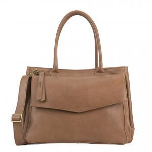 genuine leather camel handbag